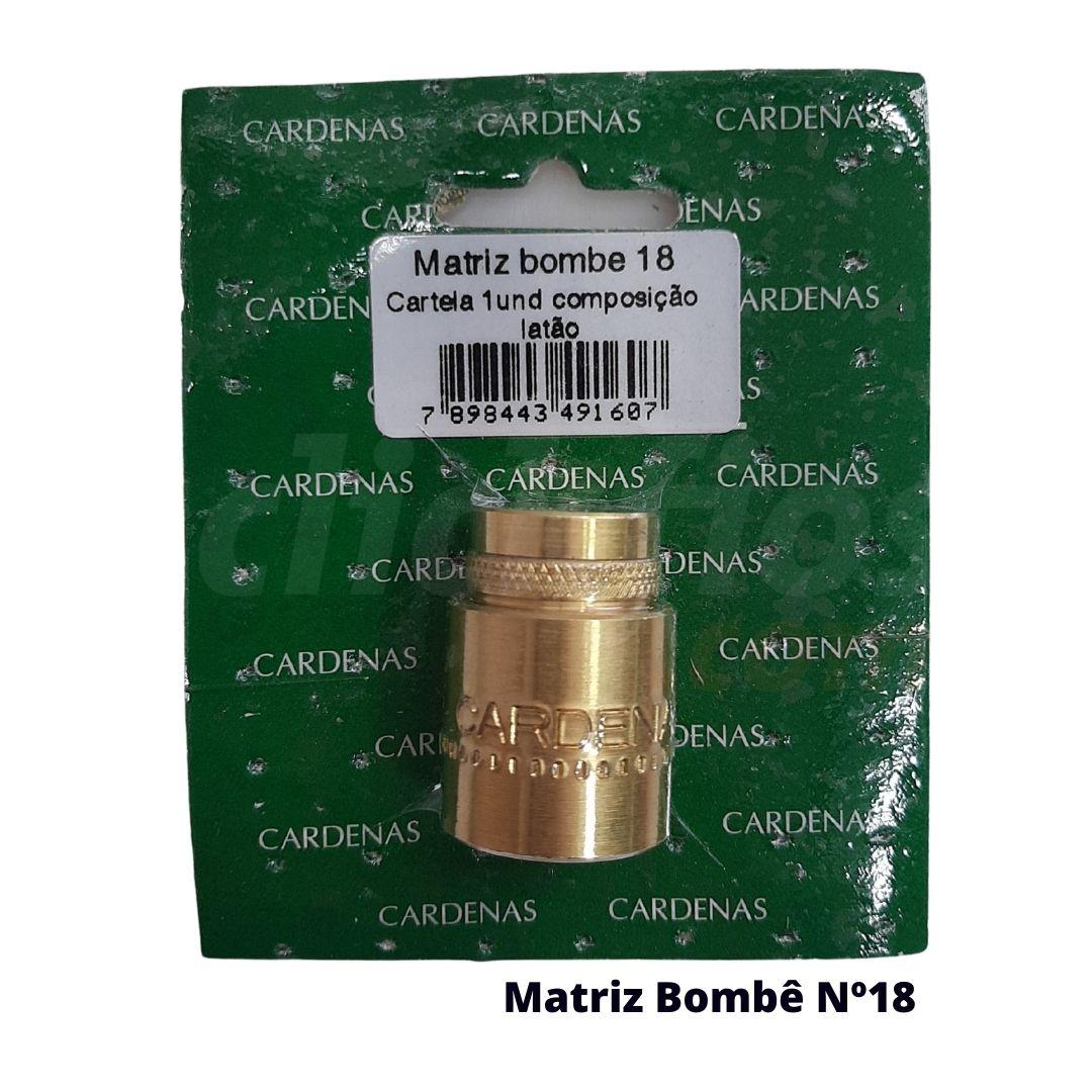 Matriz para Botão Bombê Redondo para forração de botão 18mm - Cardenas