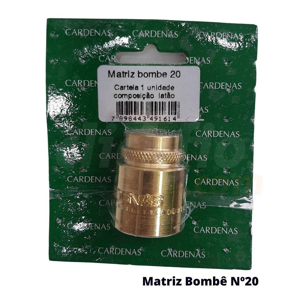Matriz para Botão Bombê Redondo para forração de botão 20mm - Cardenas