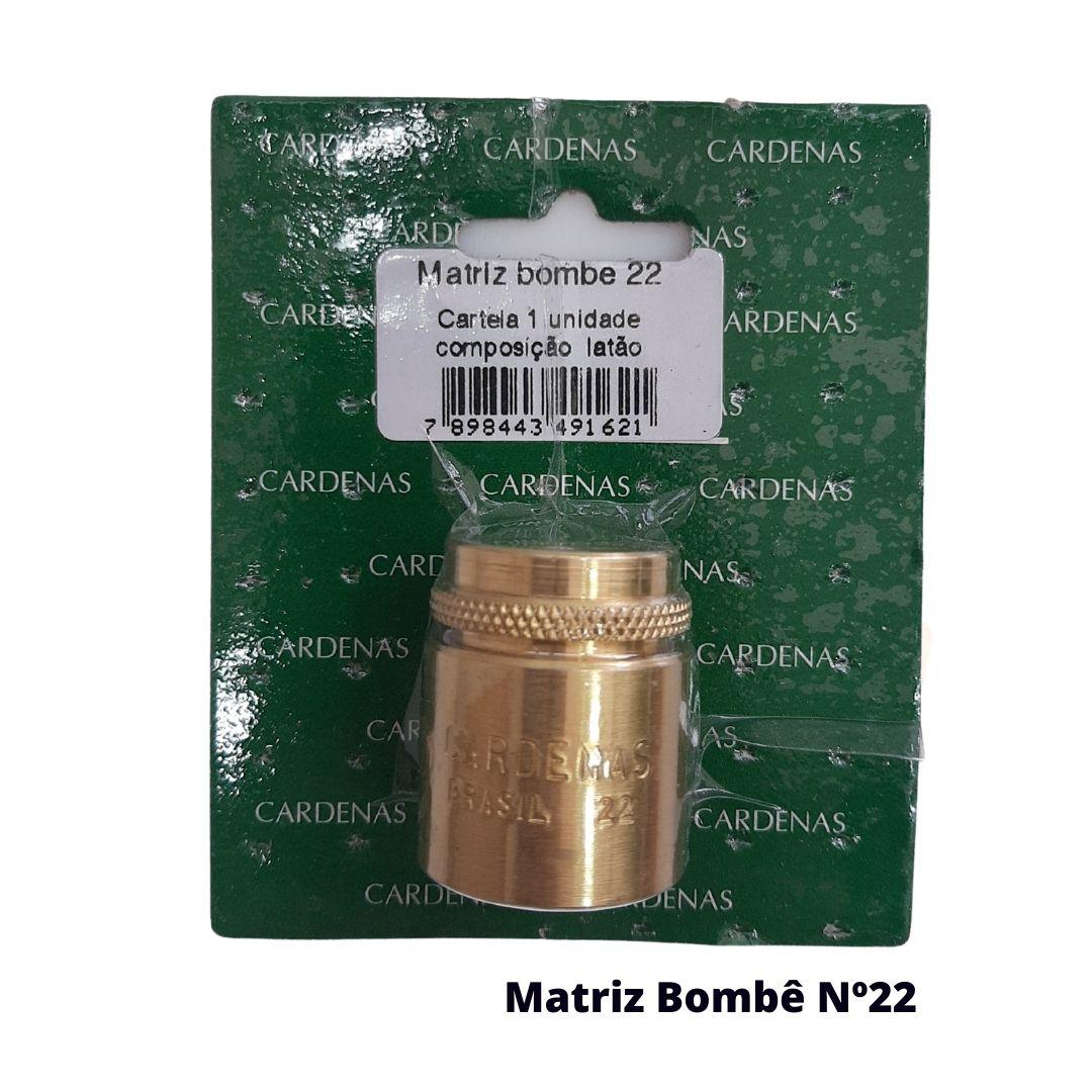 Matriz para Botão Bombê Redondo para forração de botão 22mm - Cardenas