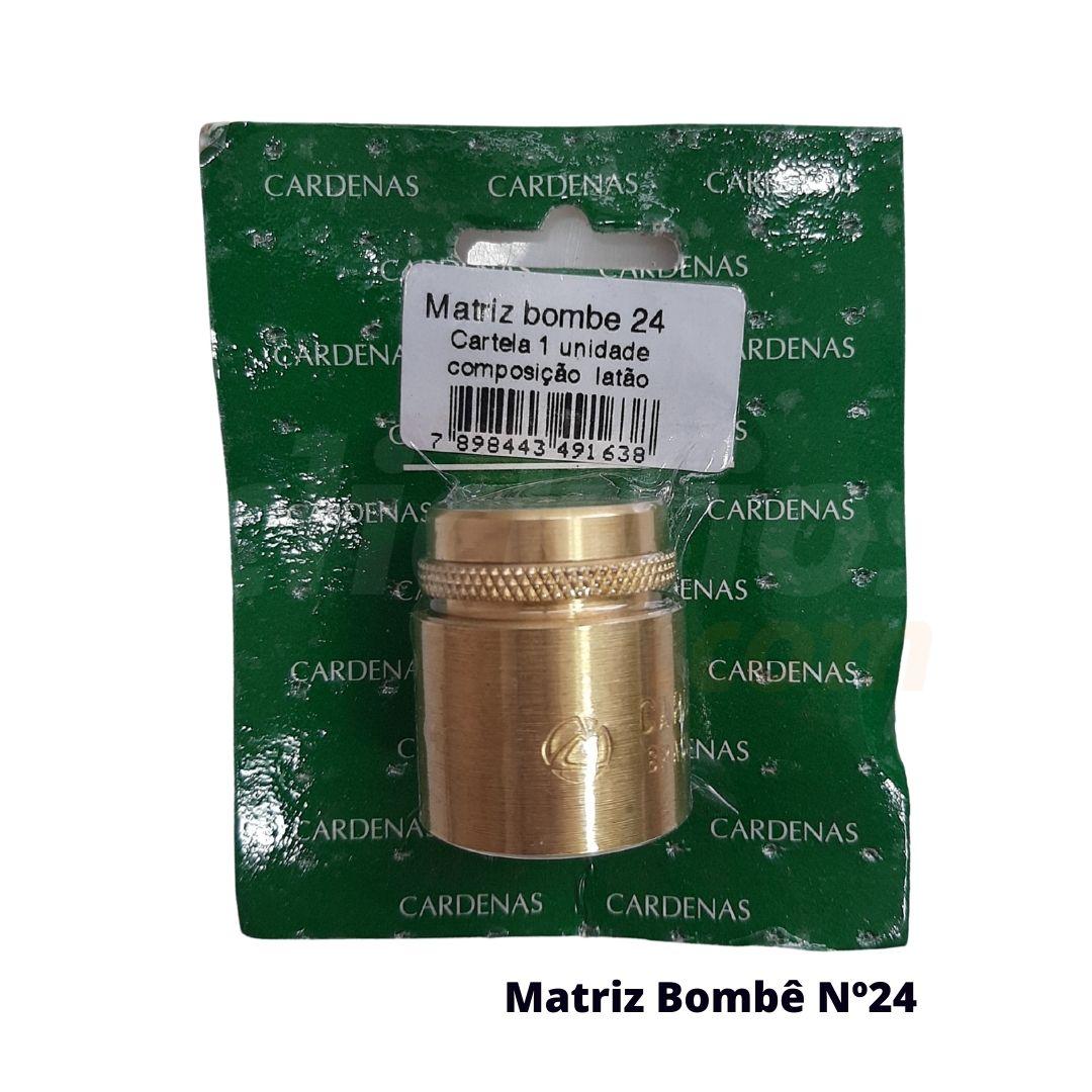 Matriz para Botão Bombê Redondo para forração de botão 24mm - Cardenas