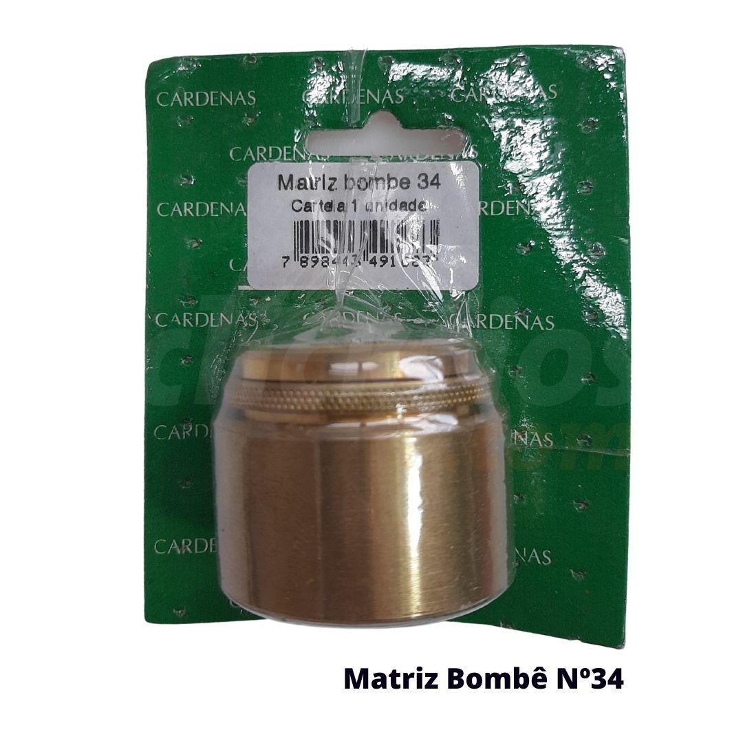 Matriz para Botão Bombê Redondo para forração de botão 34mm - Cardenas