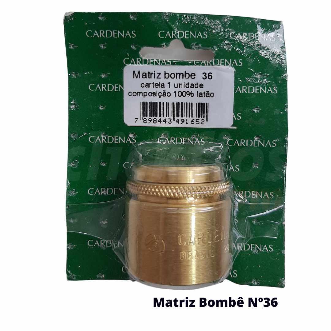 Matriz para Botão Bombê Redondo para forração de botão 36mm - Cardenas