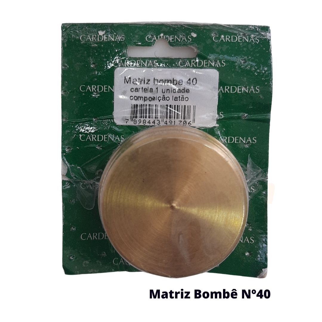 Matriz para Botão Bombê Redondo para forração de botão 40mm - Cardenas