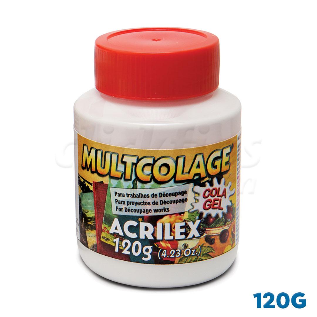 Multicolage Acrilex 120g Ref. 18112