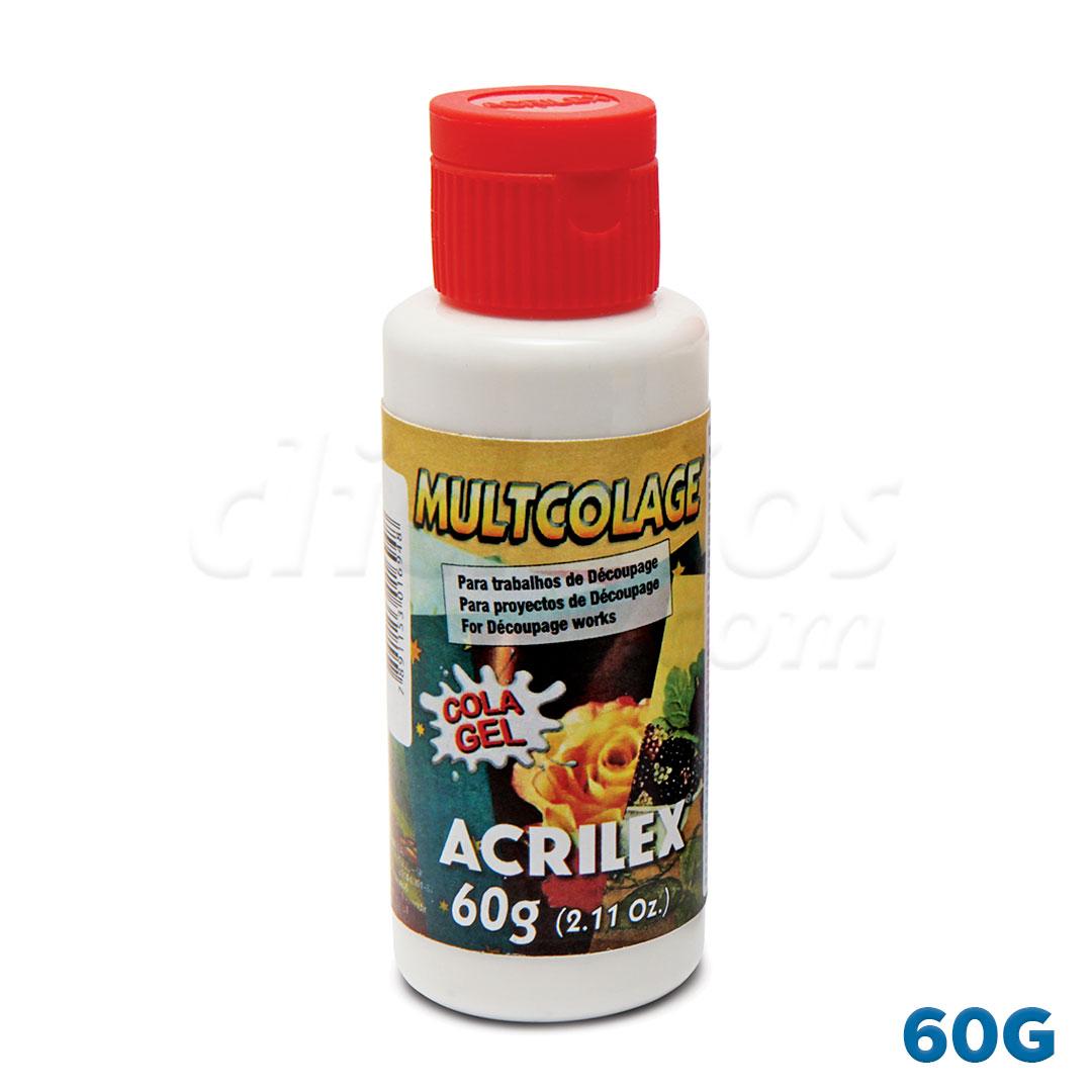 Multicolage Acrilex 60g Ref. 18160
