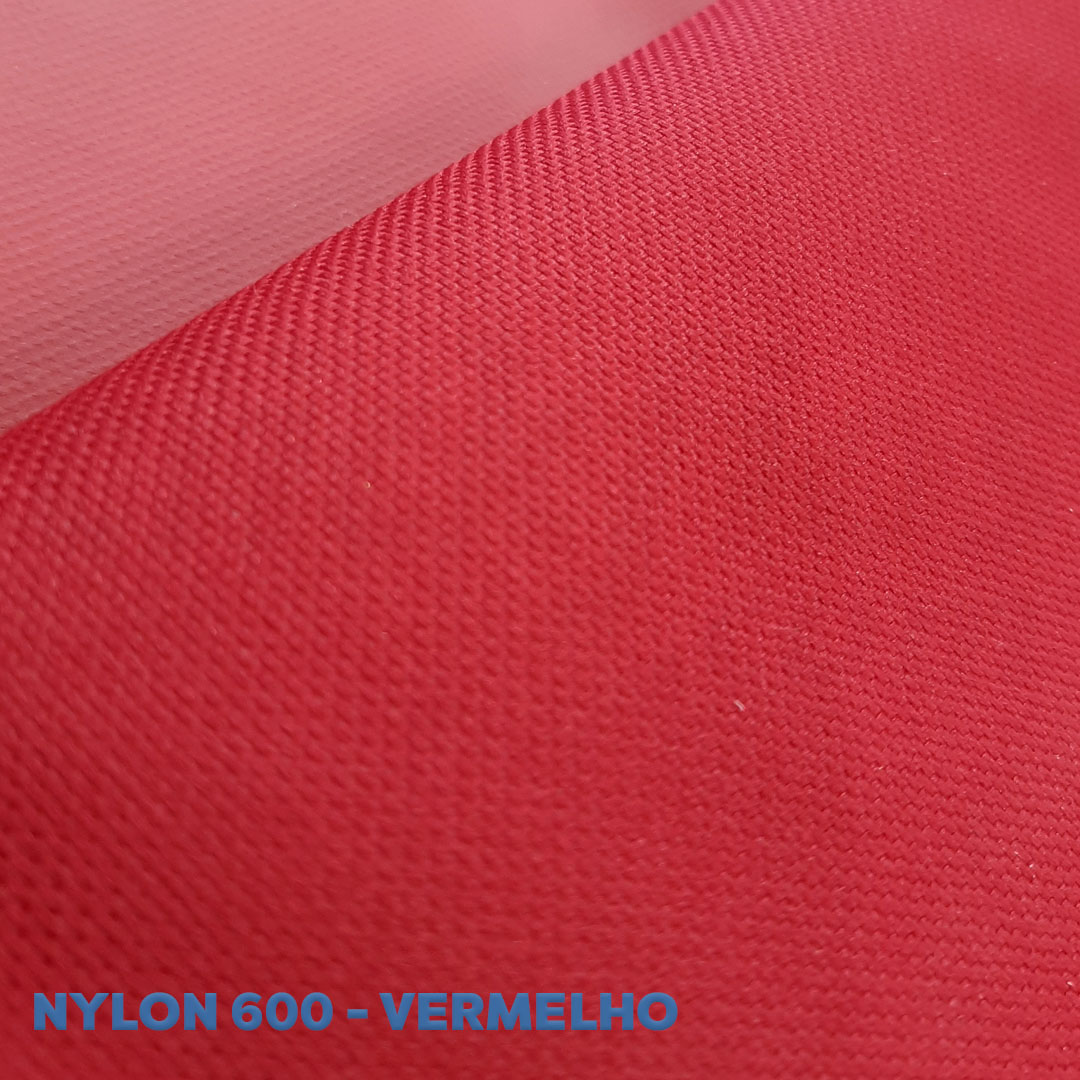 Nylon 600 cor Vermelho med. 0,50 x 1,50m