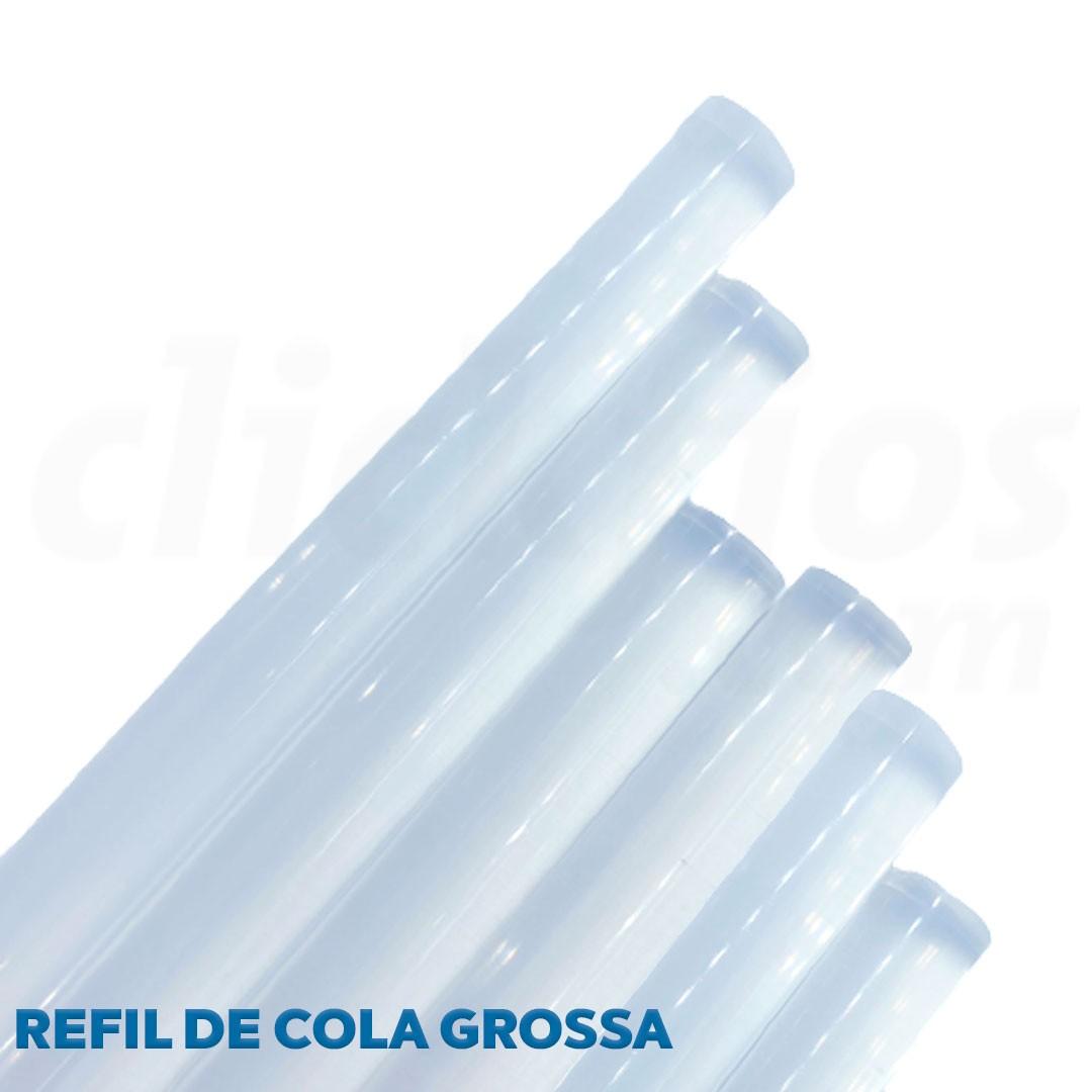 Refil Cola Quente Grossa Transparente diam. 11mm