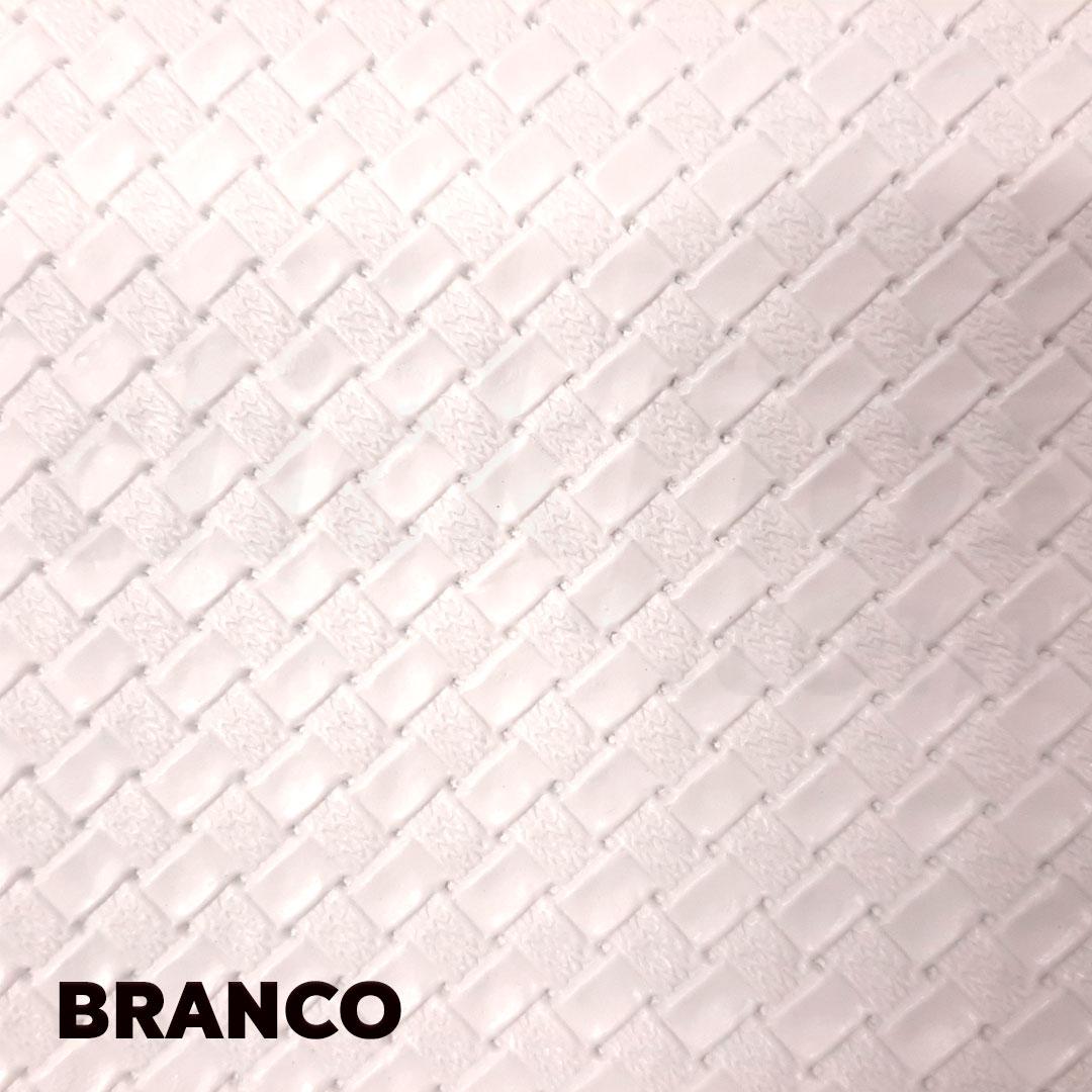 Sintético Taurus cor Branco med. 0,50 x 1,40 m