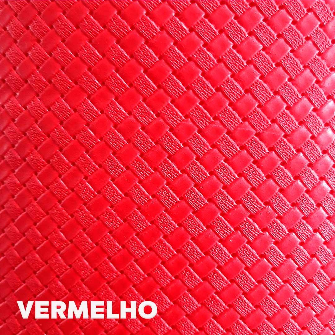 Sintético Taurus cor Vermelho med. 0,50 x 1,40 m