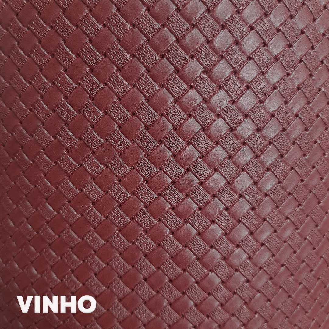 Sintético Taurus cor Vinho med. 0,50 x 1,40 m