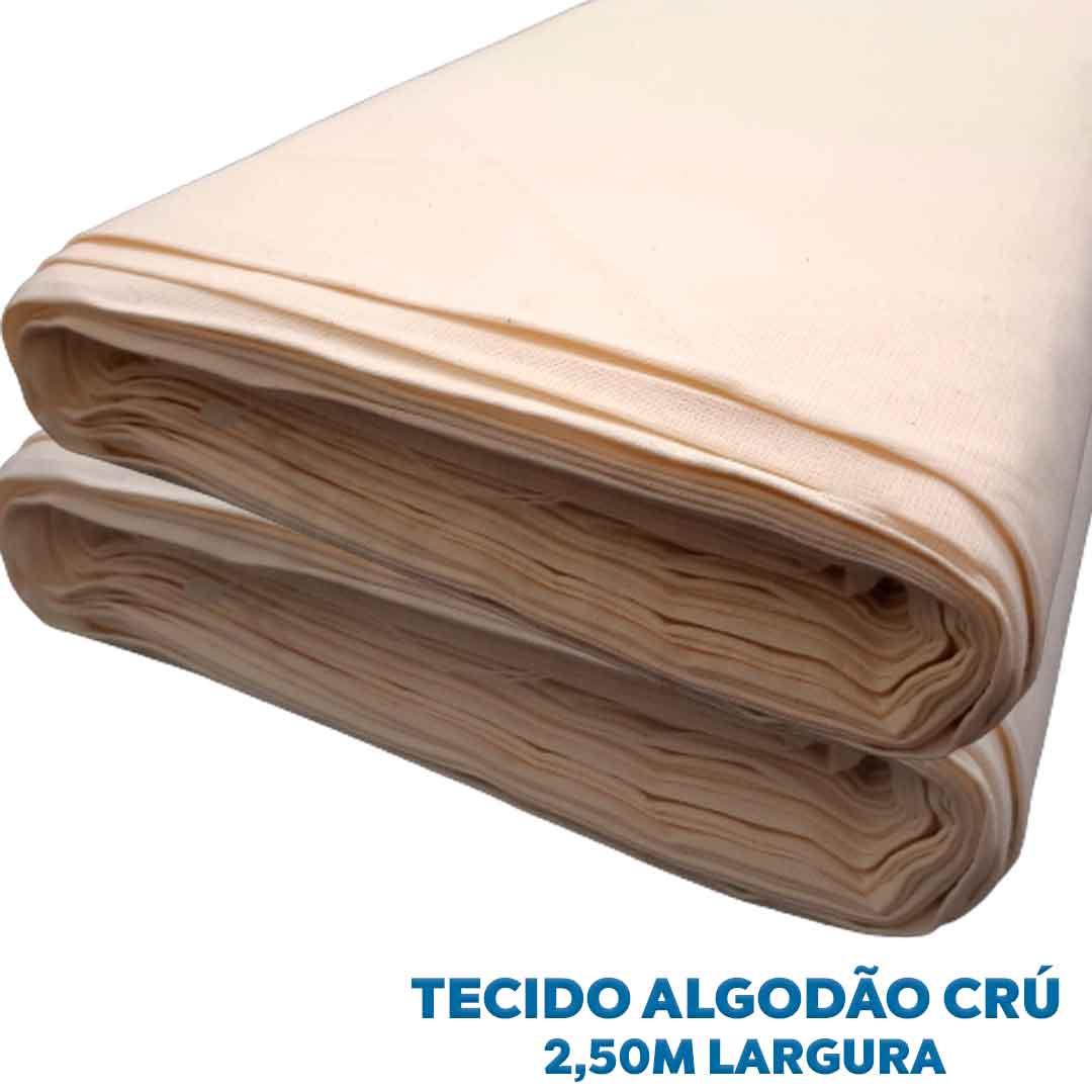 Tecido Algodão Cru 100% Algodão (0,50 x 2,50m)