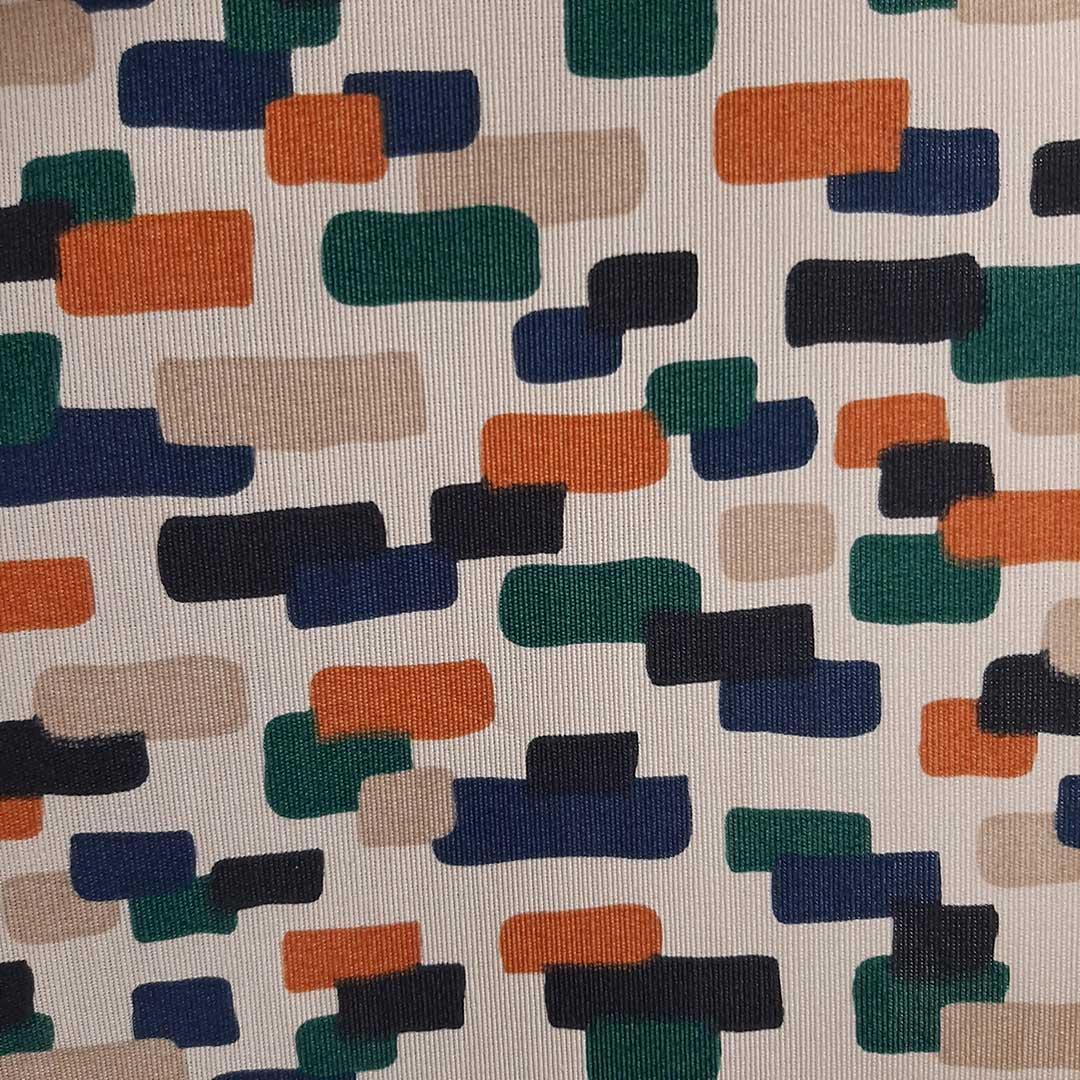 Tecido de Decoração Belize Estampado c/ Proteção Ref. 5604 cor C med. 0,50 x 1,40m Dohler