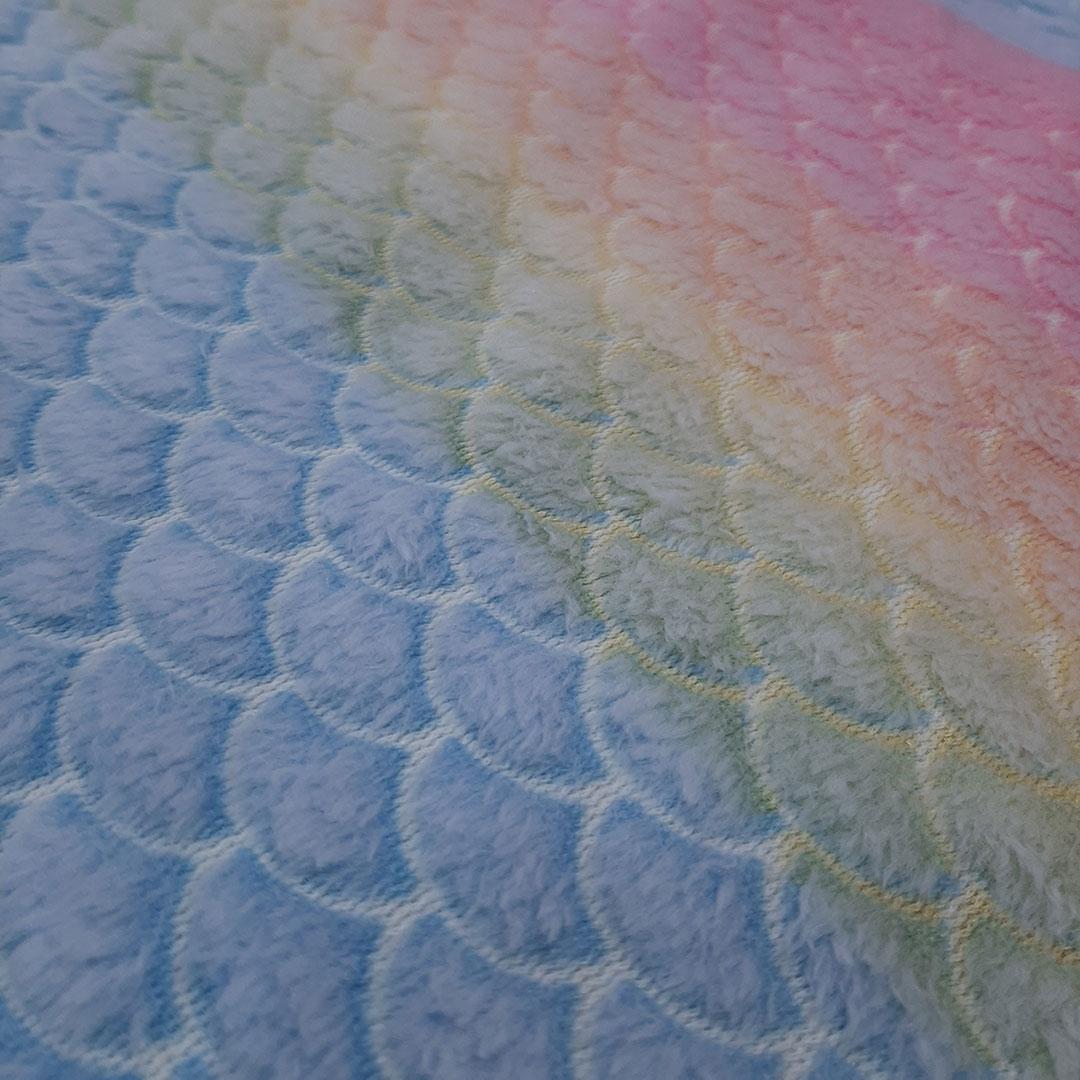 Tecido Fleece Estampado 192623 cor 273 med. 0,50 x 1,60 m