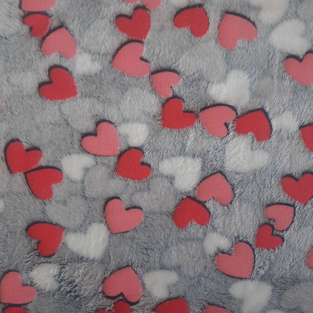 Tecido Fleece Estampado 192623 cor 318med. 0,50 x 1,60 m