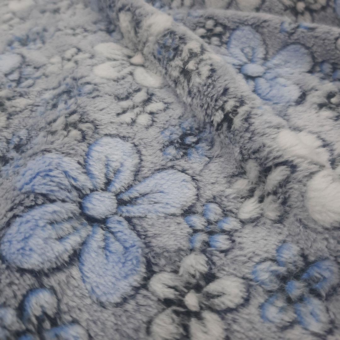 Tecido Fleece Estampado 192623 cor 245 med. 0,50 x 1,60 m