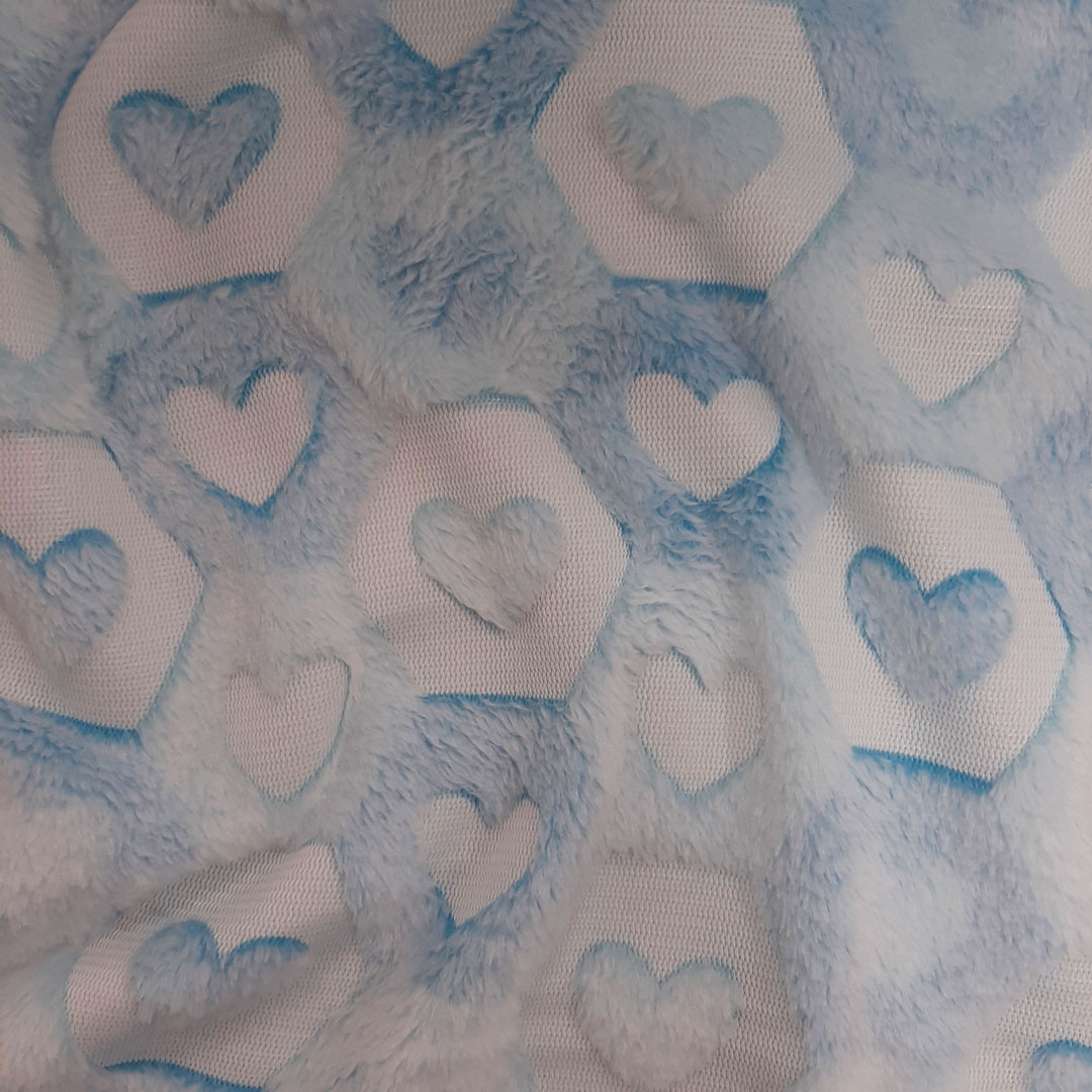 Tecido Fleece Estampado 192623 cor 278 med. 0,50 x 1,60 m