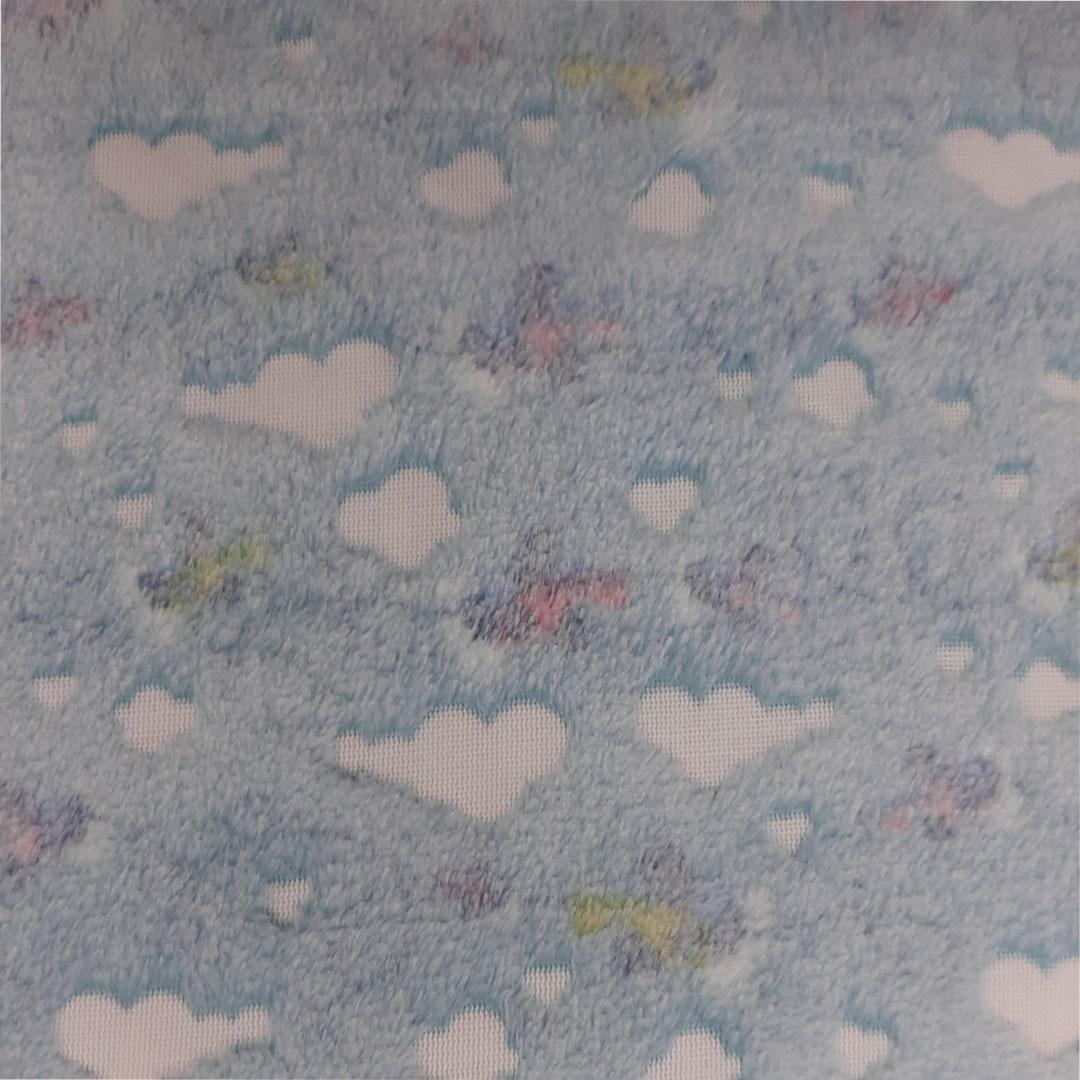 Tecido Fleece Estampado med. 0,50 x 1,60 m
