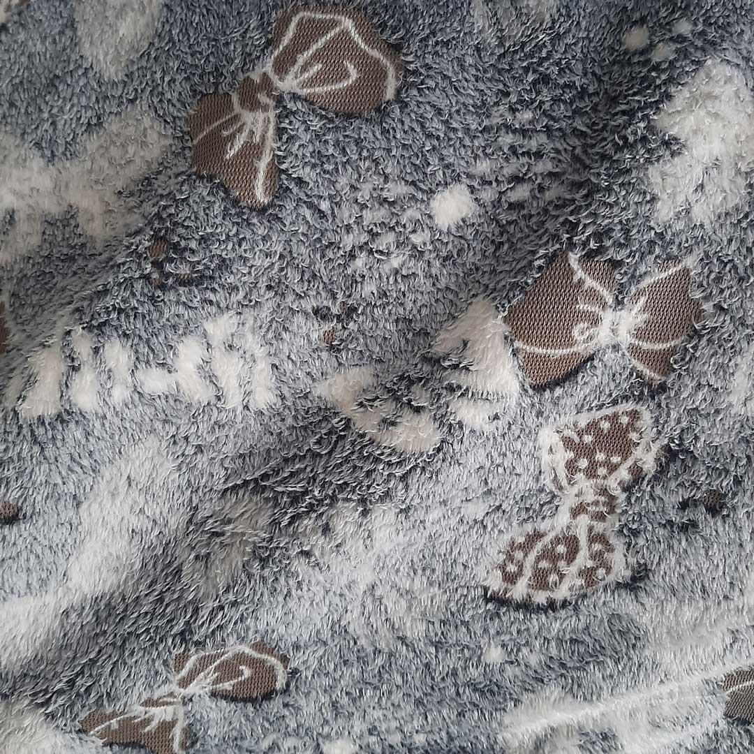 Tecido Fleece Estampado med. 0,50 x 1,60 m Ref. 192623 cor 223