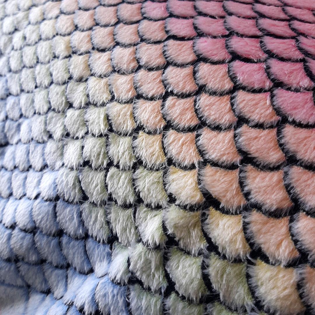 Tecido Fleece Estampado med. 0,50 x 1,60 m Ref. 192623 cor 274