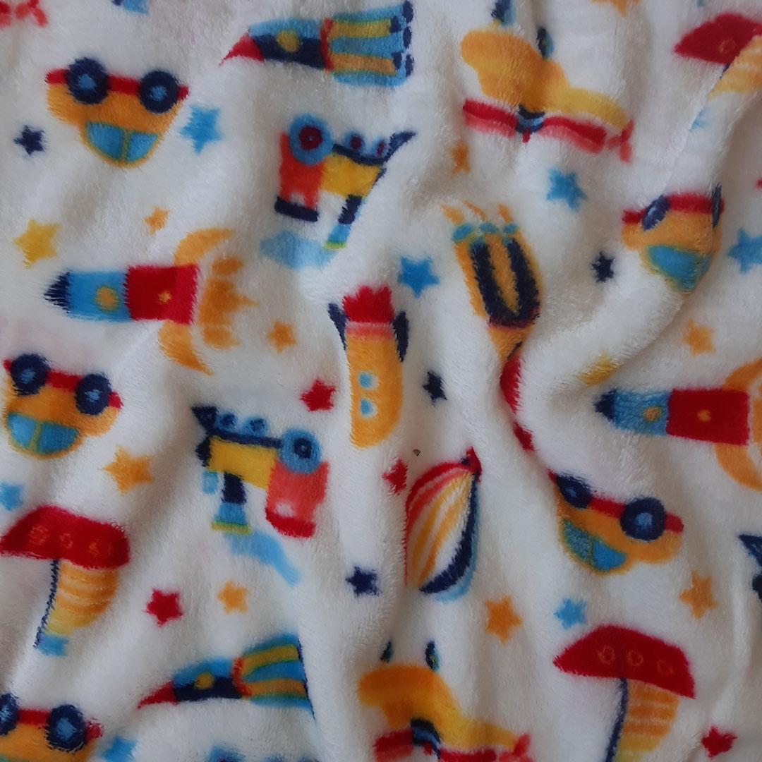 Tecido Fleece Estampado Ref. 192623 cor 26 med. 0,50 x 1,60 m