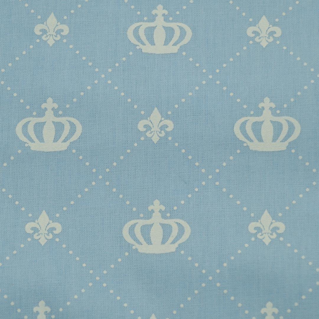 Tecido Tricoline Estampado Patchwork Essentials Coroa Grande 41003 Cor 02 Fernando Maluhy (0,48m x 1,40m)