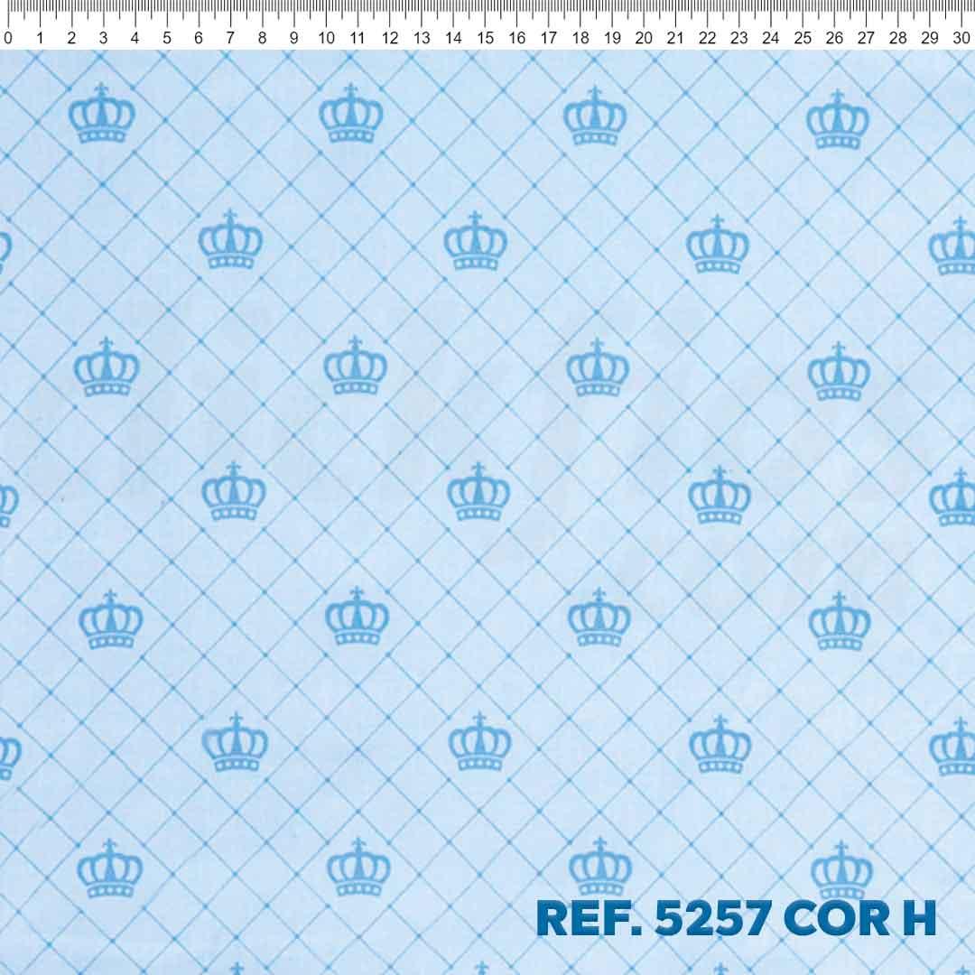 Tecido Tricoline para Patchwork Des. 5257 Cor: H Dohler 0,50 x 1,50 m