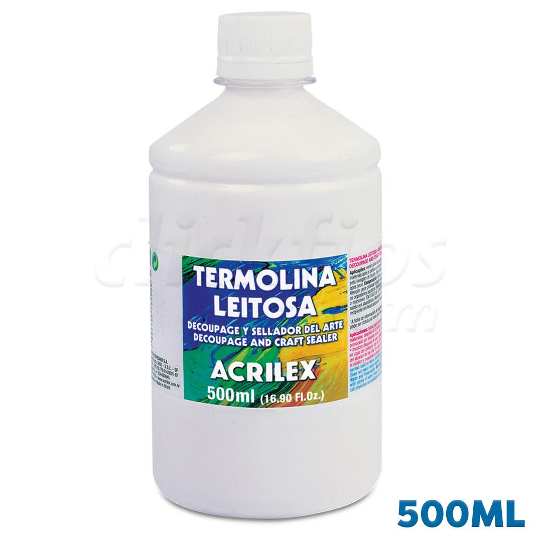 Termolina Leitosa Acrilex 500ml Ref. 16550