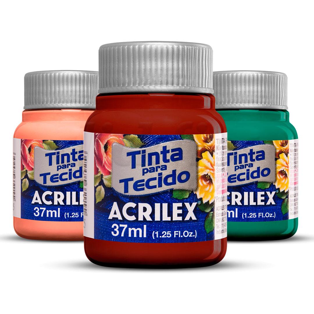 Tinta para Tecido Fosca Acrilex 37ml Ref. 04140