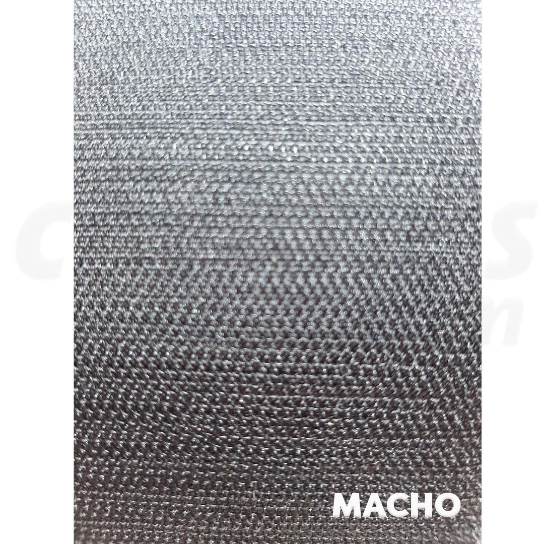 Velcro de 10 cm conjunto macho e fêmea na cor preto caixa com 25 metros