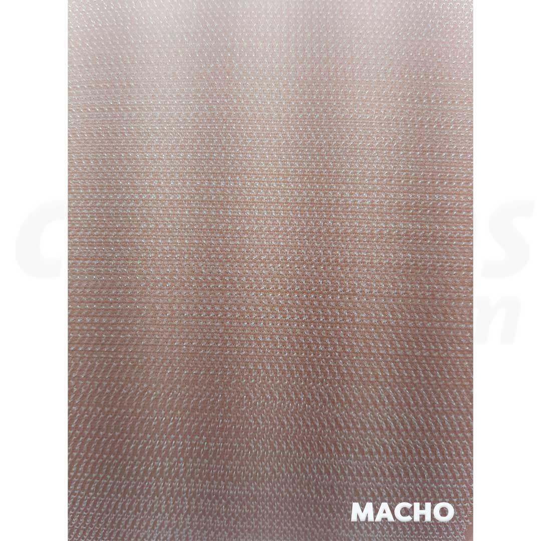 Velcro de 2,5 cm conjunto macho e fêmea na cor nude caixa com 25 metros