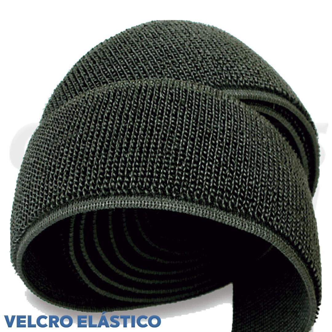 Velcro Elástico de 5 cm cor Preto Somente Fêmea rolo com 25 metros