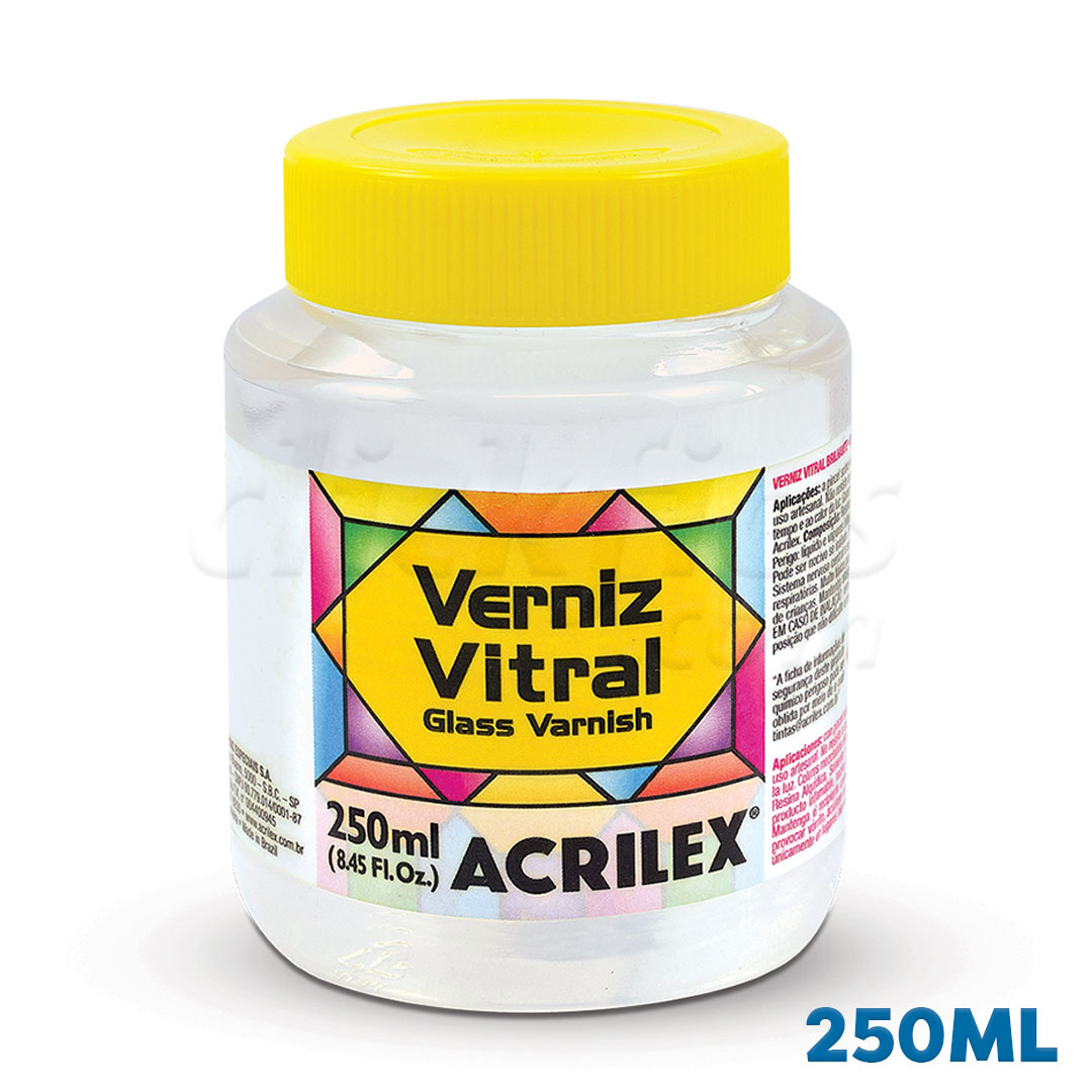 Verniz Vitral Acrilex 250ml Ref. 08125