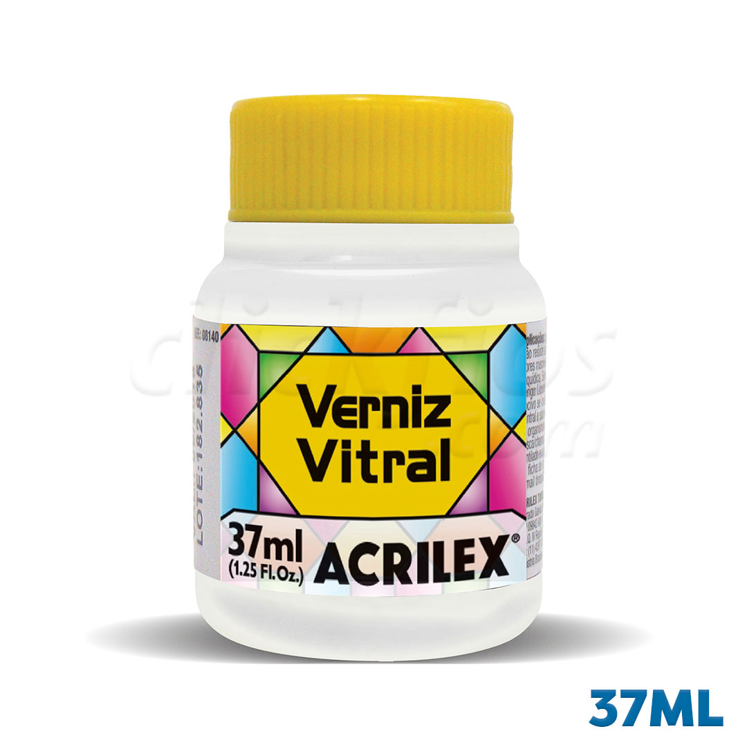Verniz Vitral Acrilex 37ml Ref. 08140