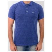 Camisa Barrocco Pólo Mescla Azul