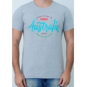Camiseta Barrocco Austrália Mescla Claro