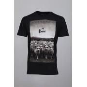 Camiseta Barrocco In Rave Preta