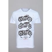 Camiseta Barrocco Motos Branca