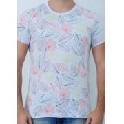 Camiseta Barrocco Outono Mescla Clara