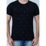 Camiseta Barrocco Symbols Preta
