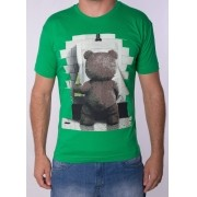 Camiseta Barrocco Ted Verde