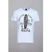 Camiseta CoolWave Beach.CA Branca