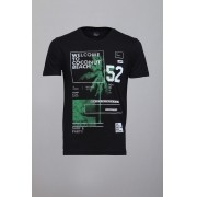 Camiseta CoolWave Coconut Beach Preta