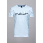 Camiseta CoolWave Evite Aglomerações Branca