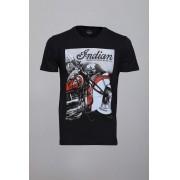 Camiseta CoolWave Indian Motorcycles Preta