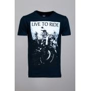Camiseta CoolWave Live To Ride Preta