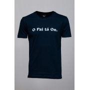 Camiseta CoolWave O Pai Tá On Preta