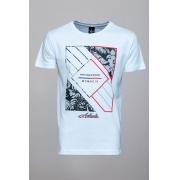 Camiseta CoolWave Reputable Brand Branca