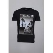 Camiseta CoolWave Road Trip Fusca Preta