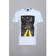 Camiseta CoolWave Streets At Night Branca