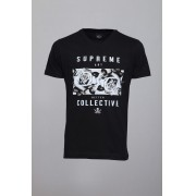 Camiseta CoolWave Supreme Collective Preta